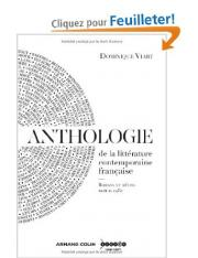 Viart (Dominique) > Anthologie de la littérature contemporaine française